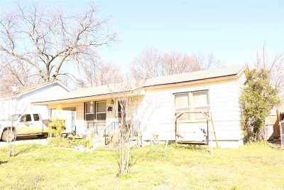 Ardmore OK Single Family Home For Sale: $72,500