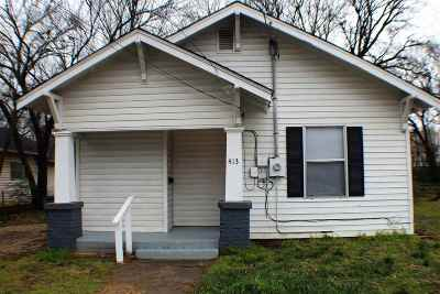 Ardmore OK Single Family Home For Sale: $69,900