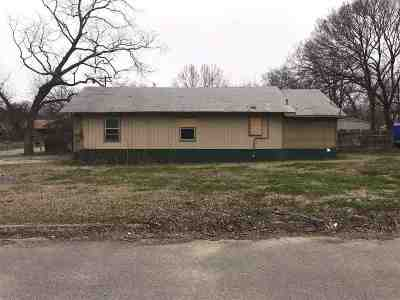 Ardmore OK Single Family Home For Sale: $9,000