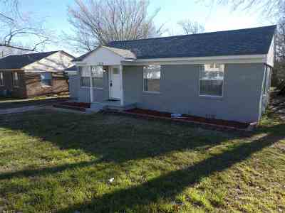 Garvin County Single Family Home Pending: 1520 S East Street
