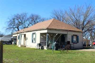 Carter County Single Family Home New: 201 NW H Street