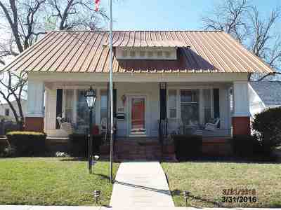 Ardmore OK Single Family Home For Sale: $128,000