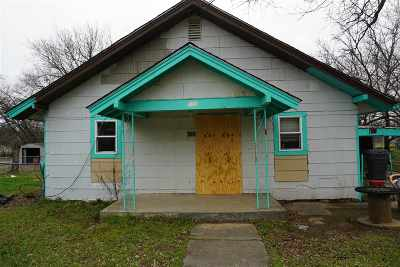 Ardmore OK Single Family Home For Sale: $24,900