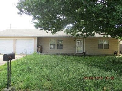 Madill Single Family Home For Sale: 206 N Sunset Drive