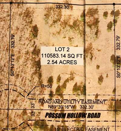 Ardmore Residential Lots & Land For Sale: 0 Lot 2 Possum Trail Road