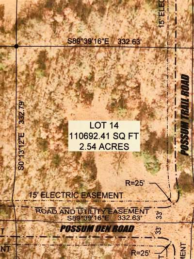 Ardmore Residential Lots & Land For Sale: 0 Lot 15 Possum Trail Road