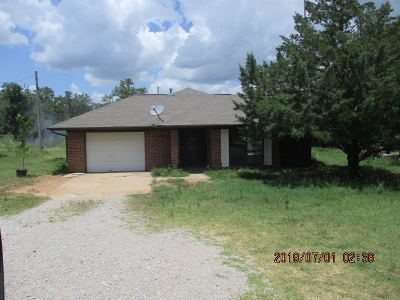 Wilson Single Family Home For Sale: 1356 Bronco Road