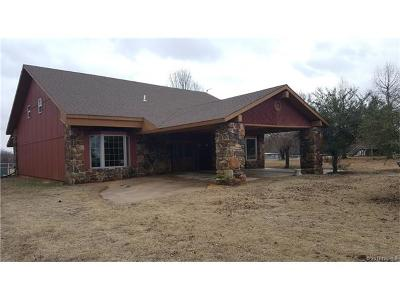 Calvin OK Single Family Home For Sale: $250,000