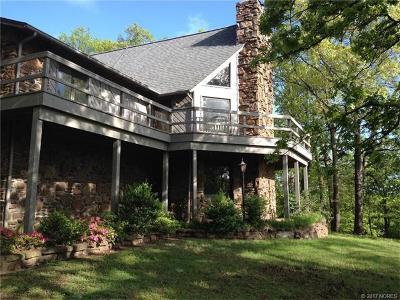 Park Hill OK Single Family Home For Sale: $319,500