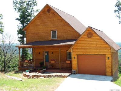 Park Hill OK Single Family Home For Sale: $248,130