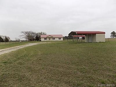 Holdenville OK Single Family Home For Sale: $144,900