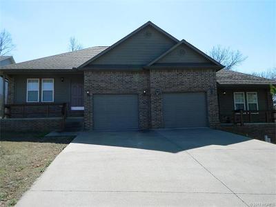 Tahlequah OK Multi Family Home For Sale: $195,000