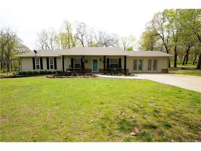 Catoosa Single Family Home For Sale: 3497 N 225th East Avenue