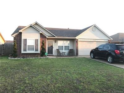 Broken Arrow Single Family Home For Sale: 25856 E 89th Place S
