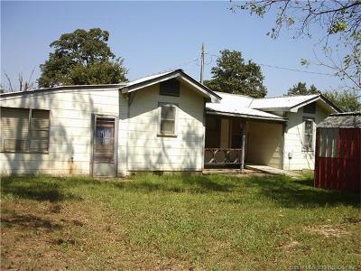 Rose OK Single Family Home For Sale: $130,000