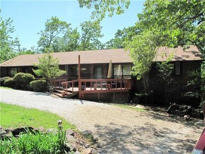 Cookson OK Single Family Home For Sale: $239,000