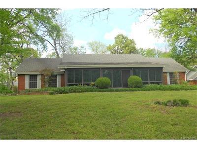 Tahlequah OK Single Family Home For Sale: $489,000