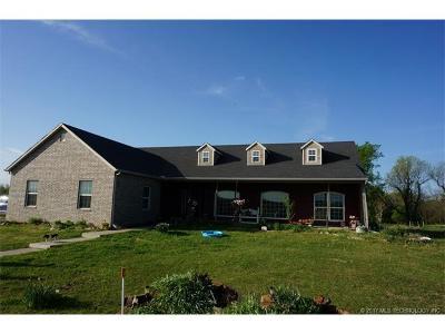 Skiatook Single Family Home For Sale: 1600 E 126th Street