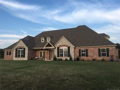 Claremore Single Family Home For Sale: 17303 S 4190 Road