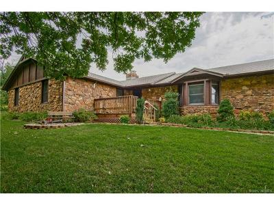 Claremore Single Family Home For Sale: 17240a S 4220 Road
