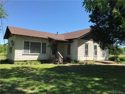 Council Hill OK Single Family Home For Sale: $47,000
