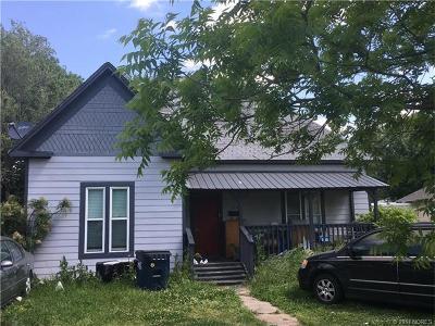 Ada OK Single Family Home For Sale: $65,000