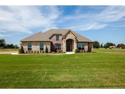 Coweta Single Family Home For Sale: 13854 S 241st East Avenue