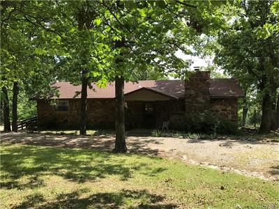 Checotah OK Single Family Home For Sale: $164,900