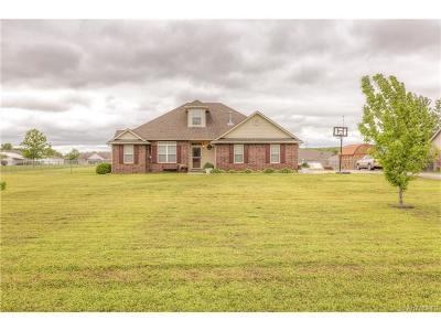 Claremore Single Family Home For Sale: 18034 Quail Meadow Drive