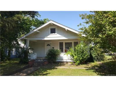 Sapulpa Single Family Home For Sale: 502 S Muskogee Street