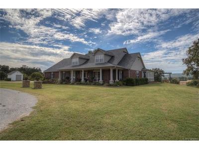 Coweta Single Family Home For Sale: 16428 S 225th Avenue