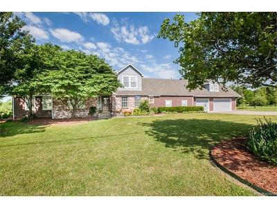 Claremore Single Family Home For Sale: 10540 N 205th East Avenue