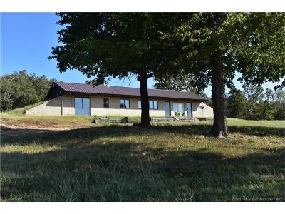Hulbert OK Single Family Home For Sale: $159,900