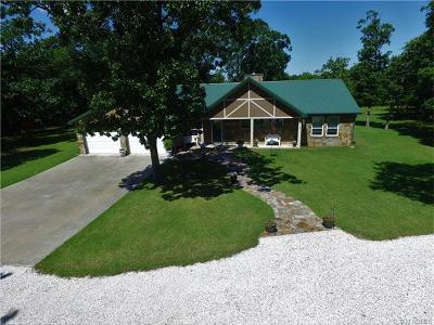 Cookson OK Single Family Home For Sale: $415,000