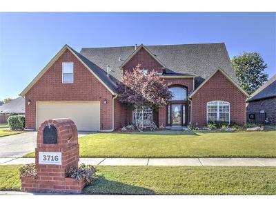 Broken Arrow Single Family Home For Sale: 3716 S Aster Avenue
