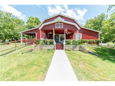 Skiatook Single Family Home For Sale: 15355 N Javine Hill Road