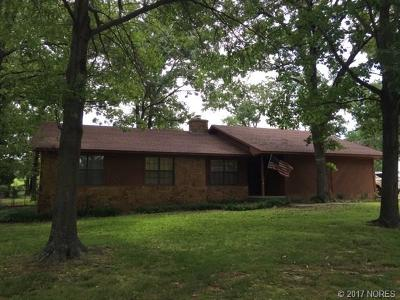 Tahlequah OK Single Family Home For Sale: $149,900