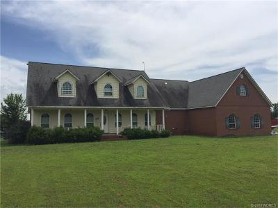 Cherokee County Single Family Home For Sale: 14403 W 825 Road