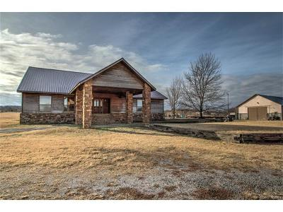 Sapulpa Single Family Home For Sale: 19742 W Highway 33 Highway