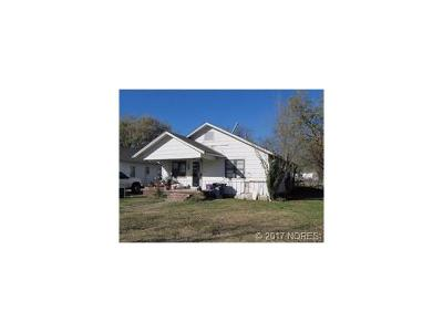 Ada OK Single Family Home For Sale: $29,000