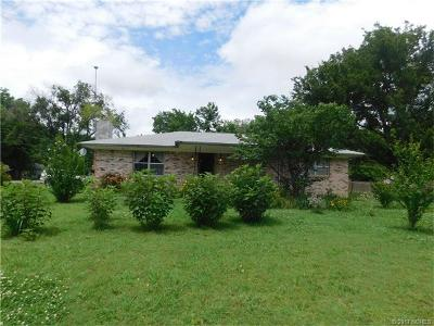 Ada OK Single Family Home For Sale: $107,000