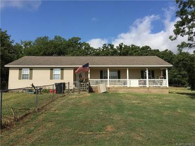 Stonewall OK Single Family Home For Sale: $144,900
