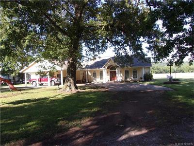 Cherokee County Single Family Home For Sale: 23701 E 730 Road