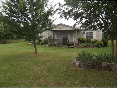 Park Hill OK Manufactured Home For Sale: $114,500
