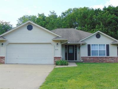 Claremore Single Family Home For Sale: 818 W 24th Street North