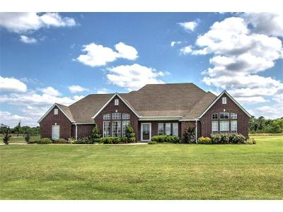 Sand Springs Single Family Home For Sale: 13706 W 60th Street S