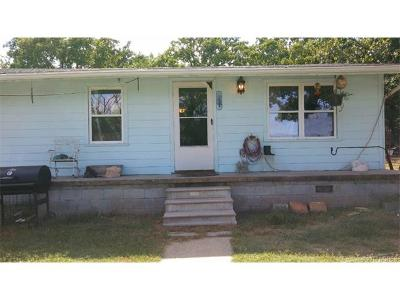 Ada OK Single Family Home For Sale: $89,900