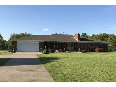 Coweta Single Family Home For Sale: 22843 E 161st Street