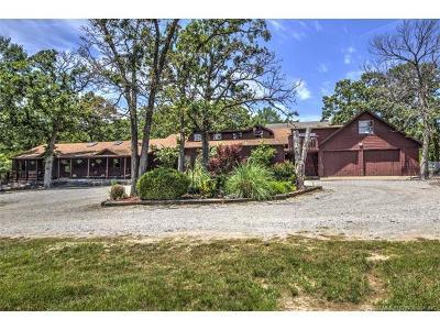 Catoosa Single Family Home For Sale: 19027 E Pine Street