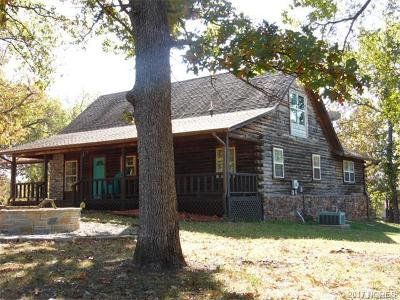 Cookson OK Single Family Home For Sale: $165,000